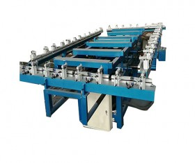 Electric and pneumatic framing machine with new type of flat screen