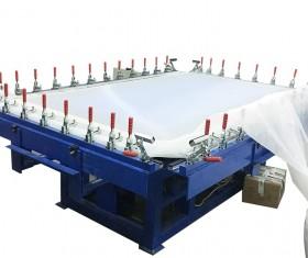 Flat net electric bandage machine